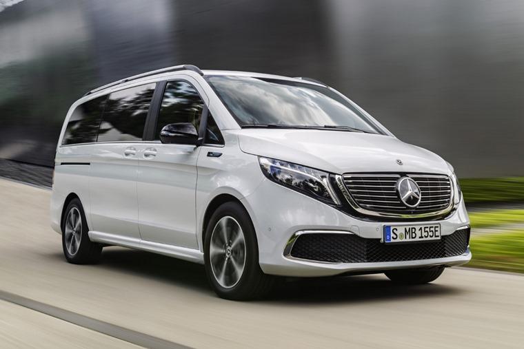 Mercedes EQV 2019 front
