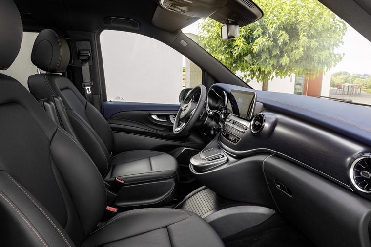 Mercedes EQV 2019 interior
