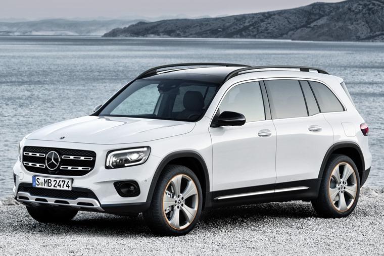 Mercedes GLB 2019 front