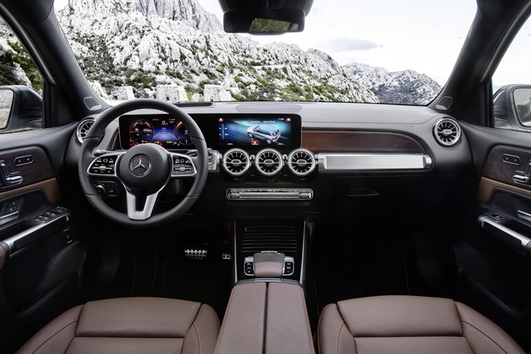 Mercedes GLB 2019 interior