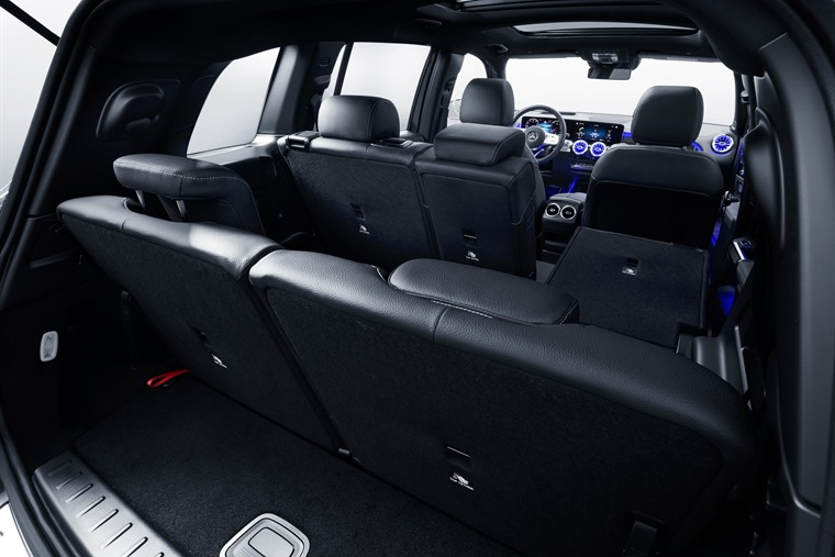 Mercedes GLB 2019 seats