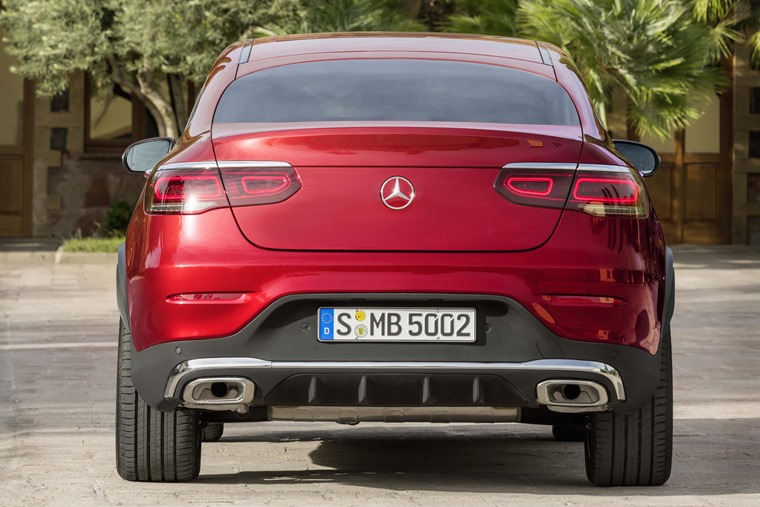 Mercedes GLC Coupe 2019 boot