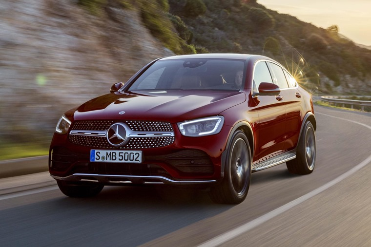 Mercedes GLC Coupe 2019 front
