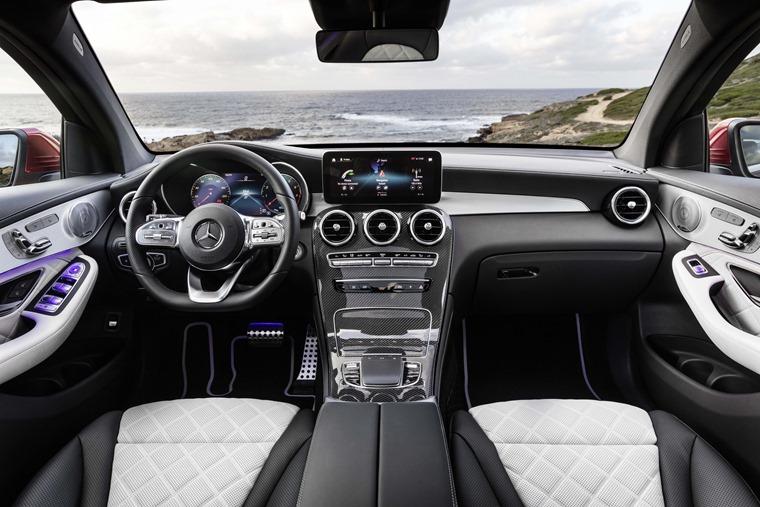 Mercedes GLC Coupe 2019 interior