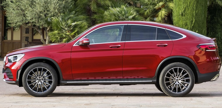 Mercedes GLC Coupe 2019 side