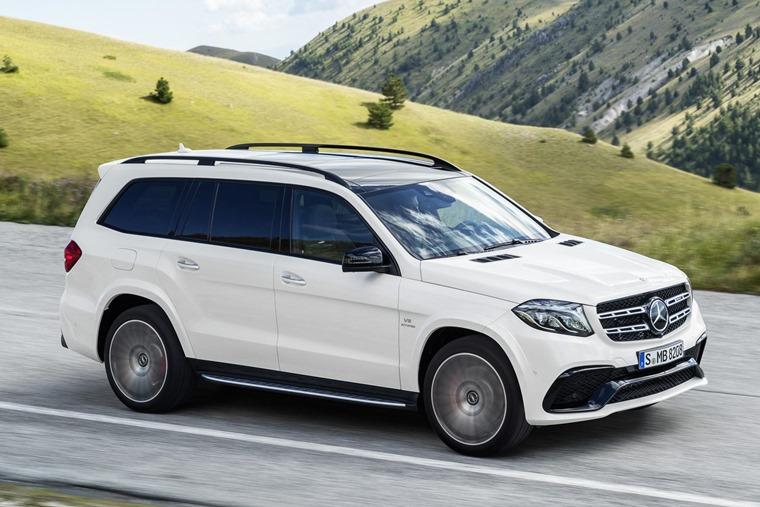 Mercedes GLS Front Dynamic