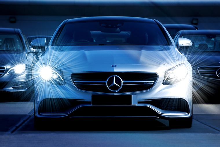 Mercedes takes the lead over mainstream cars in this month's best-sellers' list.
