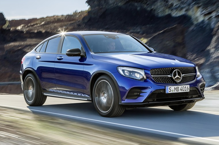 The Mercedes Glc Is Designed To Take On Likes Of Bmw X4