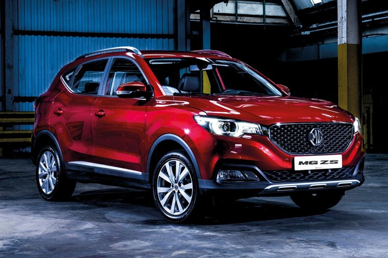 MG ZS front