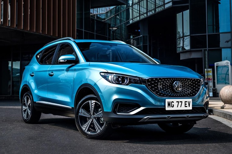 MG ZS EV 2019 FRONT