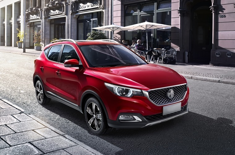 MG's new XS wis one of the only cars to be officially unveiled at the London Motor Show 2017.