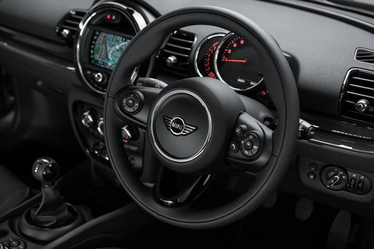 Mini Clubman City interior