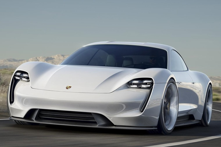Porsche Mission E gets futuristic looks, but is influenced by the current range