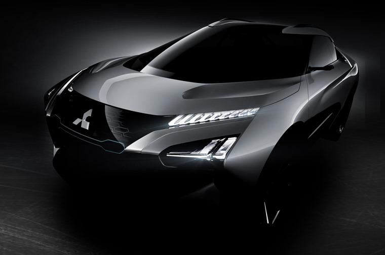 Mitsubishi e-Evolution front