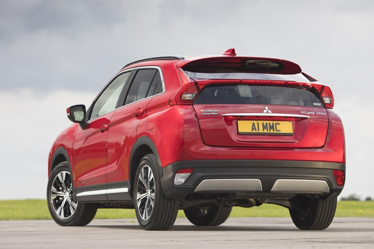 Mitsubishi Eclipse Cross rear