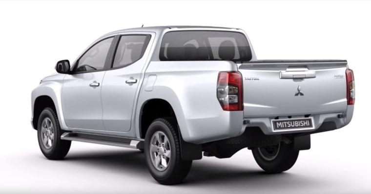 Mitsubishi L200 rear 2019