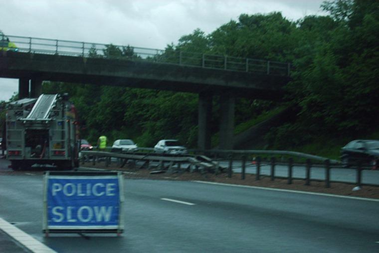 Motorway accident Flickr.com GDStinx