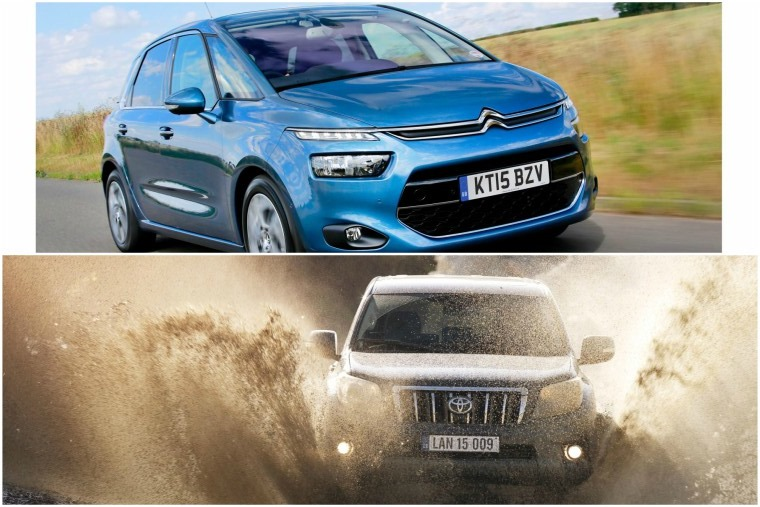 MPVs and true SUVs have fallen out of favour as a result of the crossovers success