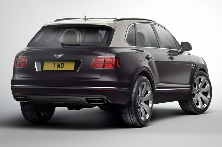 600bhp and 900Nm of torque give the Bentayga the title of the world's most powerful SUV.