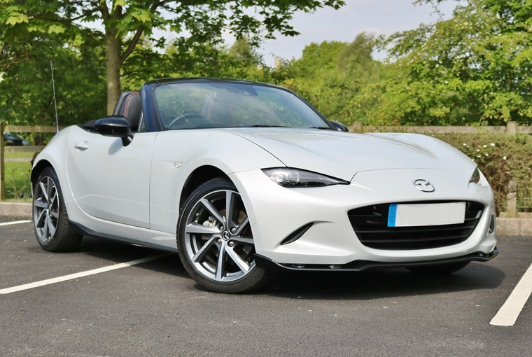 Mazda's MX-5 might not be the most powerful, but it's been heralded as the best roadster on the market.
