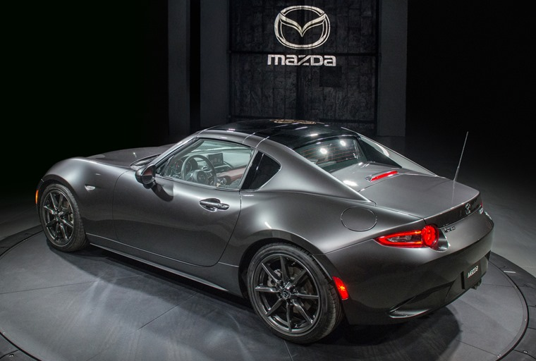This Fastback Mx 5 Gets A Retractable Hard Top Similar To 911