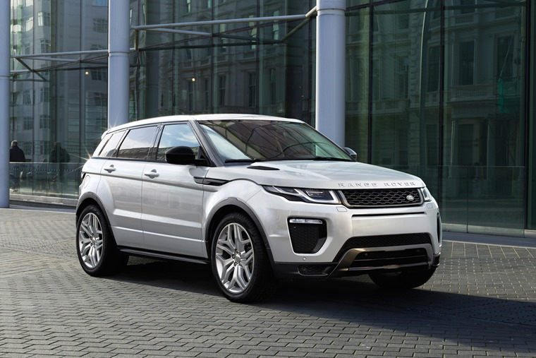 The Range Rover Evoque is one of the least depreciating vehicles.