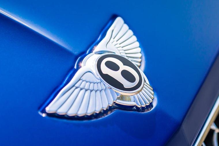 Gallery: Bentley badge.