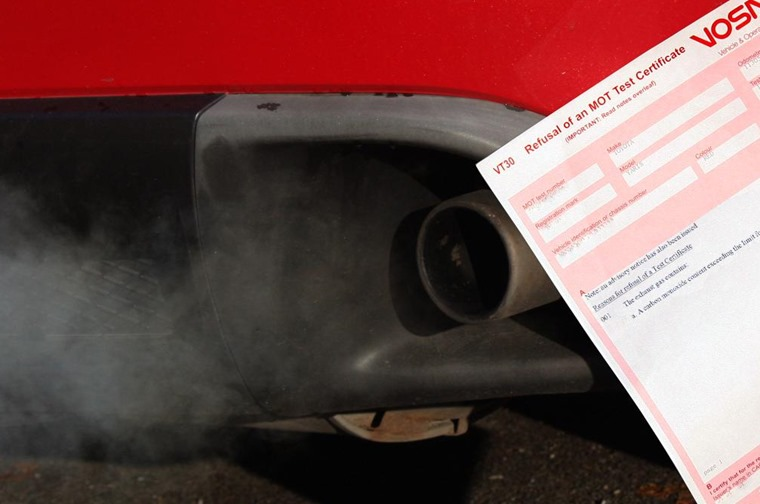 New emission limits for diesels are part of the revised MOT test