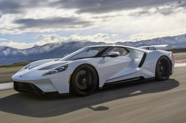 A great mix of the the old and the new: Ford's latest GT hypercar.
