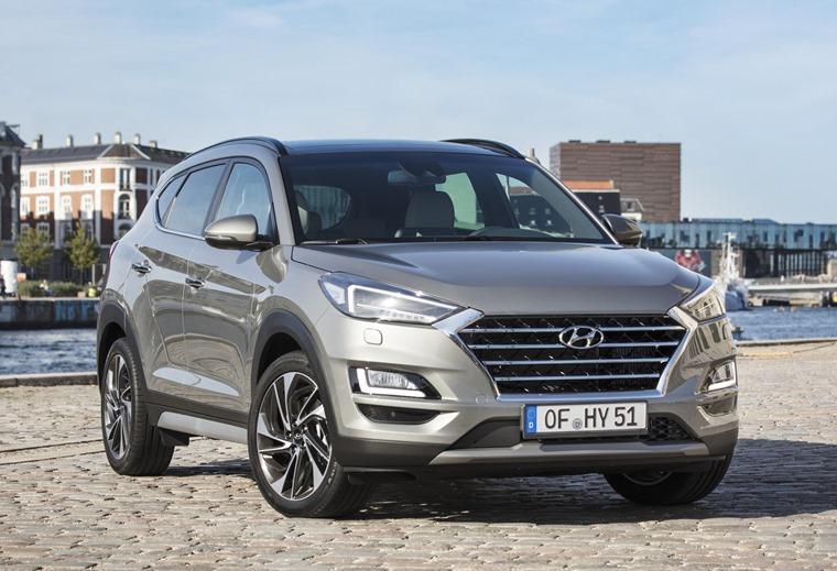 New Hyundai Tucson Front