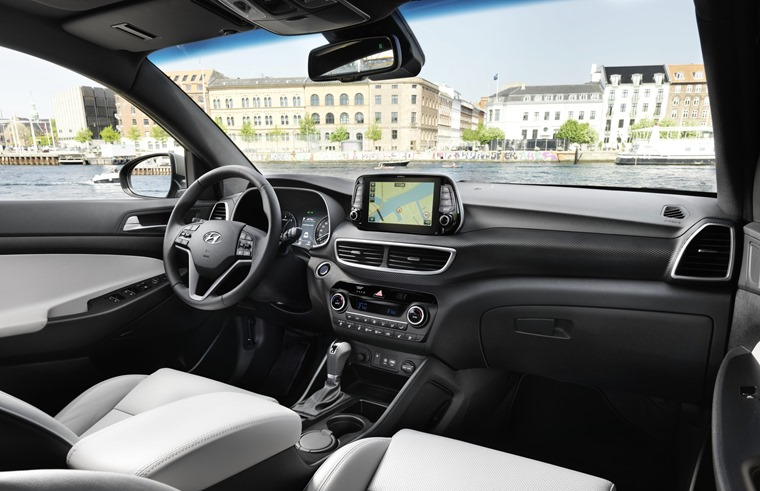 New Hyundai Tucson Interior