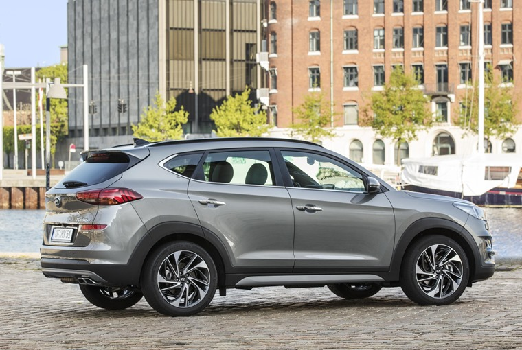 New Hyundai Tucson side