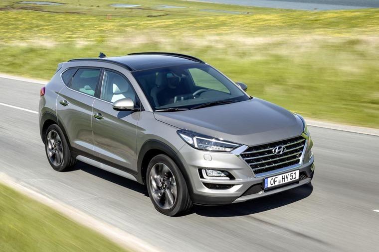 New Hyundai Tucson top