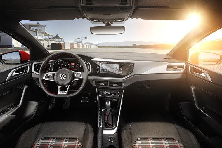 New Polo GTI interior