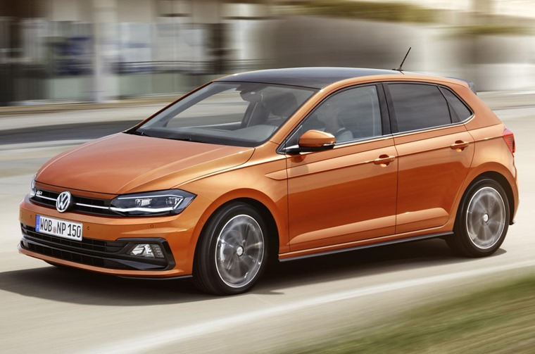 This is the first new Polo we've seen in eight years.
