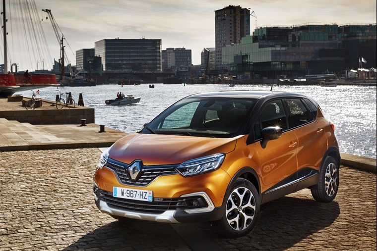 New Renault Captur - International Test Drive, Copenhagen