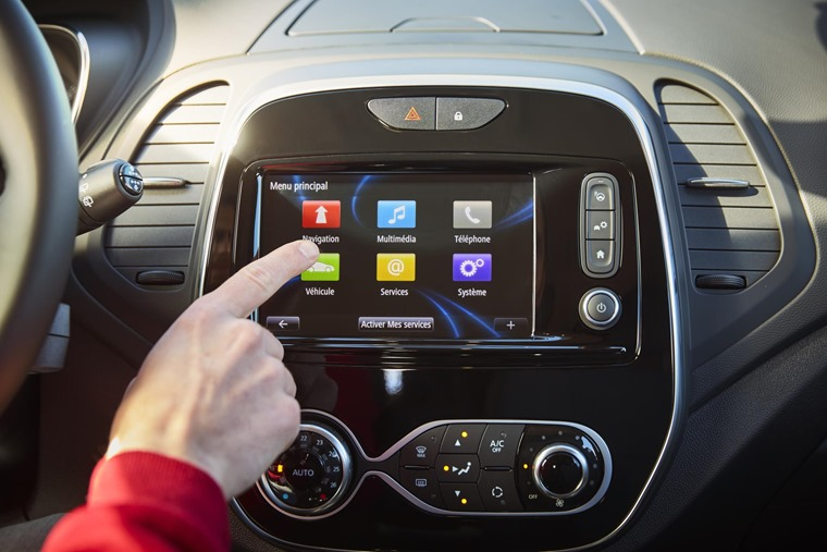 New Renault Captur infotainment