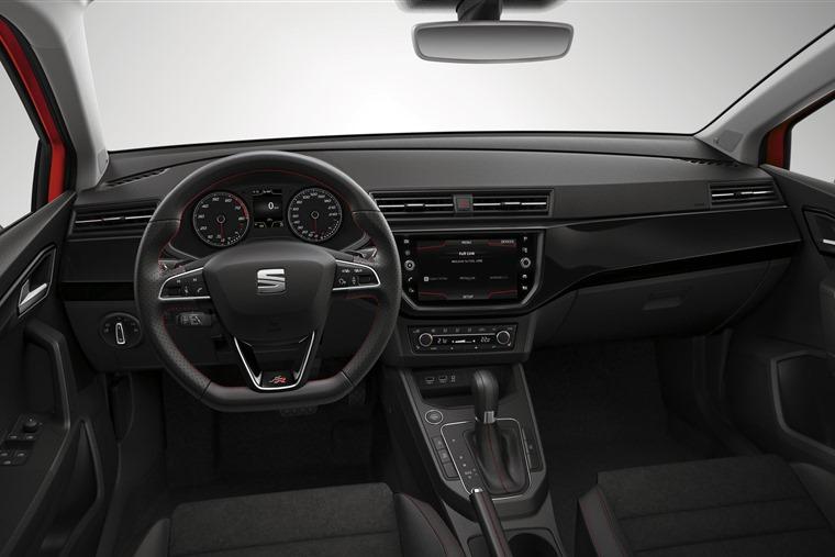 New Seat interior