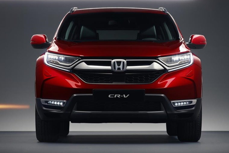 The new CR-V benefits from a comprehensive facelift that brings it in line with the rest of Honda's line-up.
