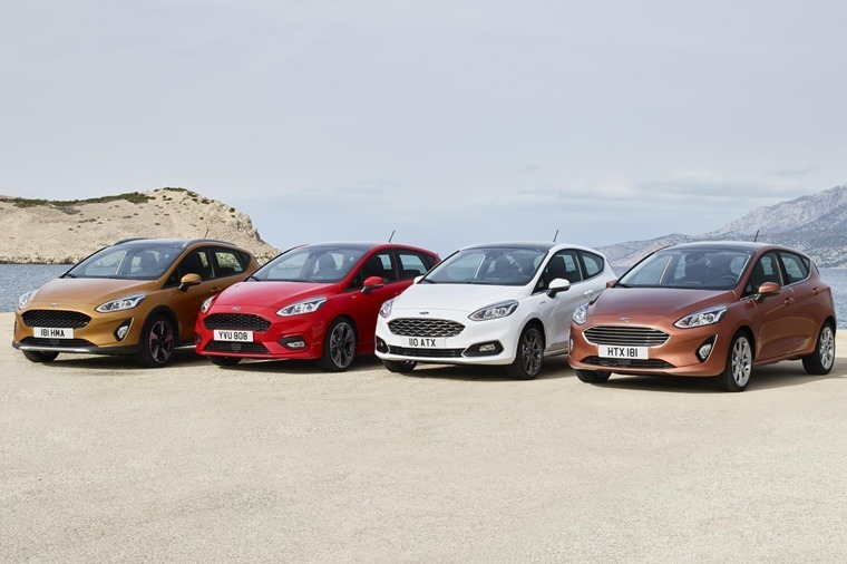 Upcoming Fiesta is available in four varying styles.