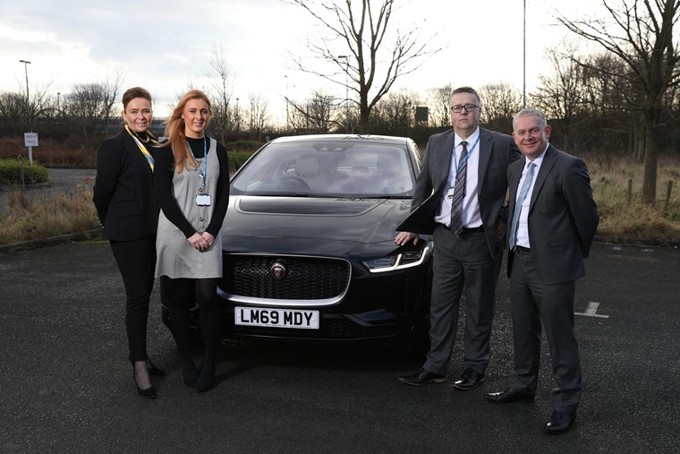 NHS and JLR I-PACE deal 210120