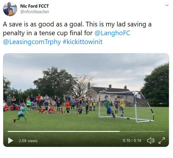 Nic Ford Winning Tweet