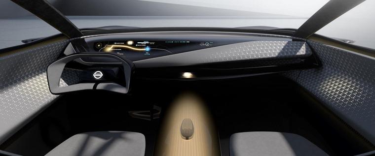 Nissan IMQ Concept car Interior 2