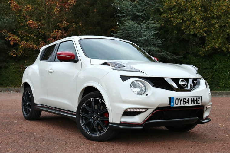 Nissan Juke Nismo Rs 2016 Pearl White Front Static