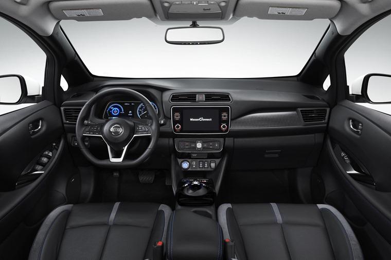 Nissan Leaf 3.Zero interior