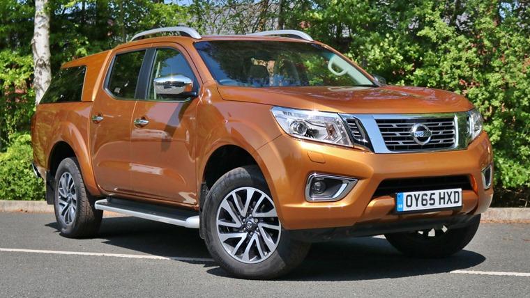 Nissan Navara 2016 Front Static