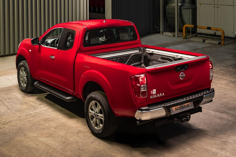 Nissan Navara King Cab - Load area