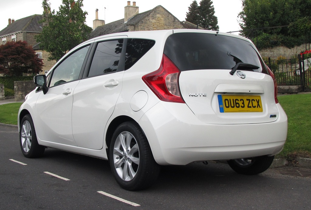 First Drive Review Nissan Note 2014