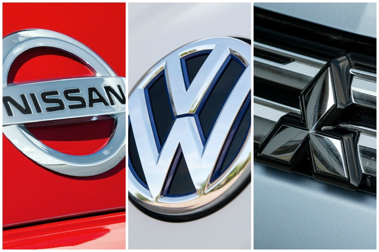Nissan Vw And Mitsubishi Up For 2015s Low Carbon Car Maker