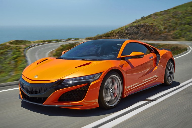 Updated Honda NSX hybrid supercar